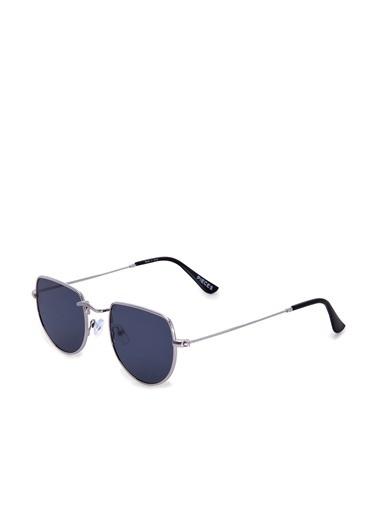 Pieces Güneş Gözlüğü Gri